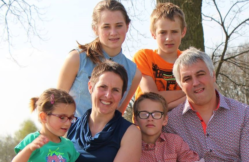 Johan & Griet, Mieke, Jef, Jan & Saar